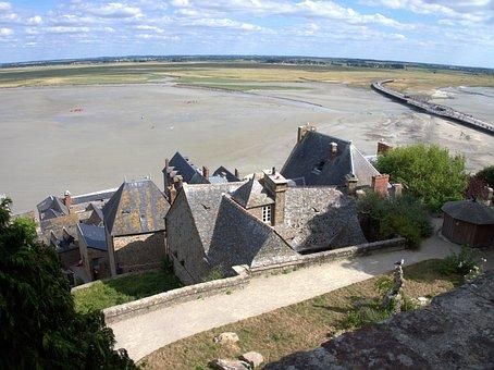 Le Mont Saint Michel, Places Of Interest, France