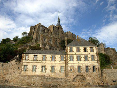 Le Mont Saint Michel, Places Of Interest, France