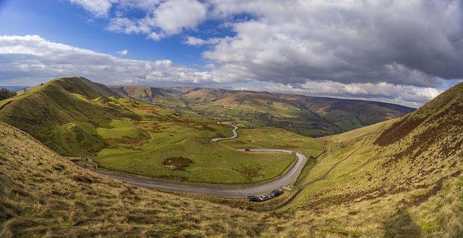 Mam Tor, High Peak, Castleton, Derbyshire