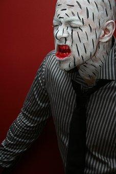 Model, Fiction, Male, Monster, Make-up, Art, Artist