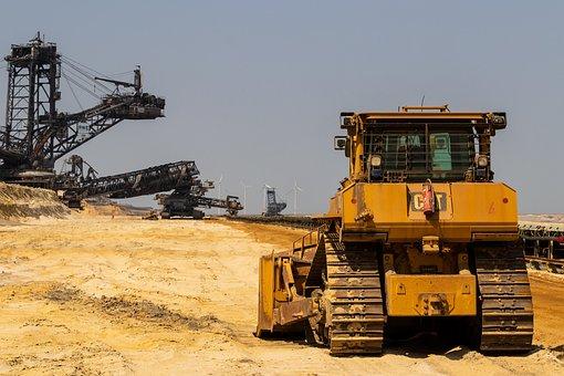 Open Pit Mining, Bucket Wheel Excavators, Excavators