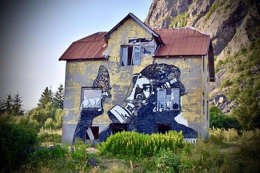Graffiti, Art, Color, Painting, Artistic, Paradox