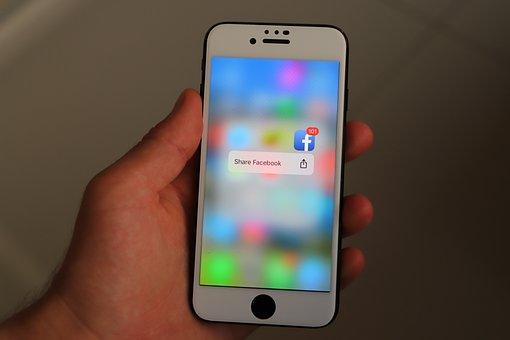Iphone, Smartphone, Social Media, Phone, Mobile Phone