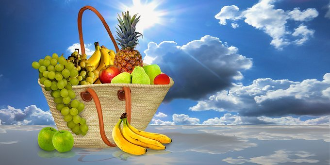 Eat, Food, Fruit, Fruit Basket, Purchasing, Healthy