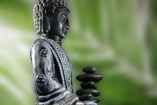 Buddha, Figure, Bronze Statue, Statue, Religion