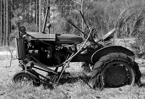 Rustic Tractor, Abandoned, Antique, Rusty, Old, Grunge