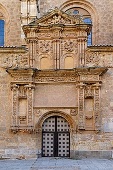Church, Door, Art, Medieval, Salamanca, Cover Pendant