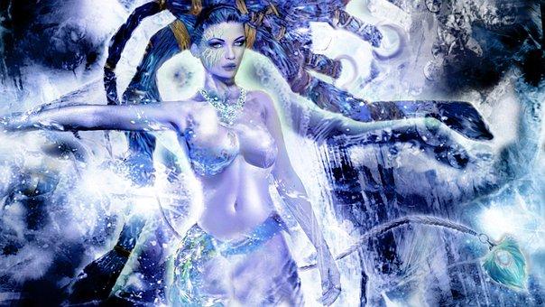 Shiva, Final Fantasy, Computer Game, Summon, Diamond