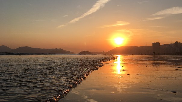 Beach, Sol, Summer, Holidays, Ocean, Mar, Sand, Nature