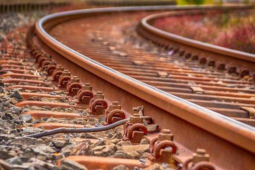 Rails, Railroad Tracks, Track, Train, Rusty, Railway