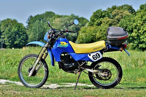 Motorcycle, Enduro, Suzuki, Ts 50 Xk, Motocross