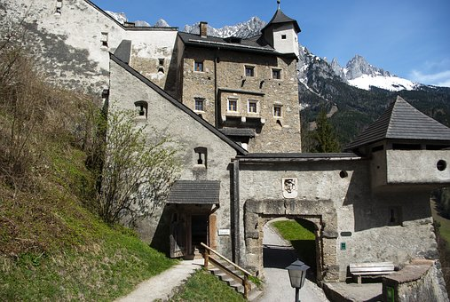 Castle Throw, Fortress, Wall, Castle, Middle Ages