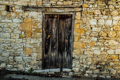 Wall, Door, Architecture, Doorway, Entrance, Facade