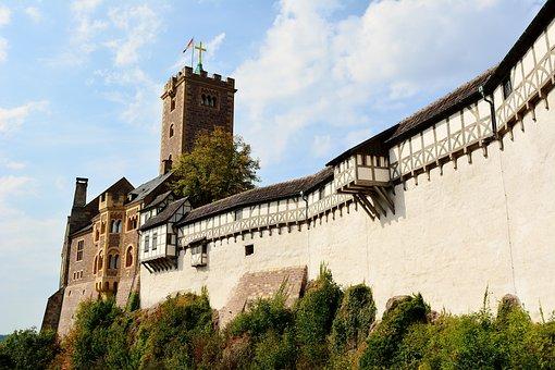 Wartburg Castle, World Heritage, Thuringia Germany