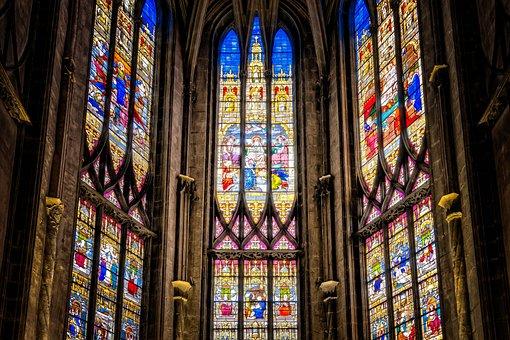 Church, Window, Stained Glass, Church Window