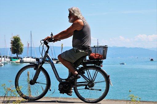 Bike, Active Holidays, Beach, Lake, Water, Active