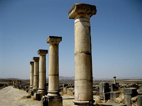 Roman, Columnar, Architecture, Building, Antiquity