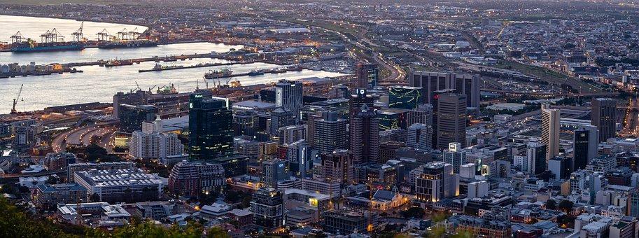 Cape Town Cbd, City, Urban, Architecture, View, Harbour