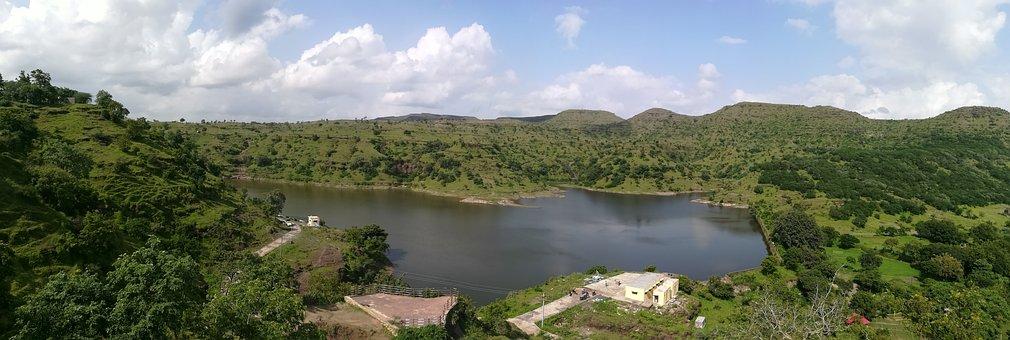 The Lake, Natural View Point, Beauty Of Nature, Lake