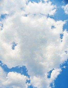 Cloud, Blue, Sky, Atmosphere, Oxygen, Rain, Color