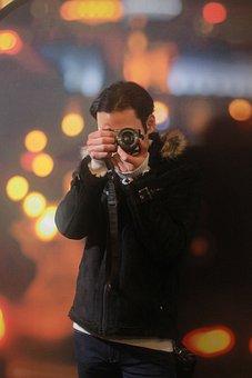 Photographer, Boy, Portrait, Childhood, Cute, Smile