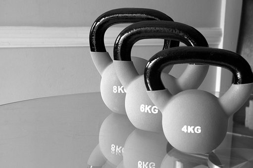 Kettlebells, Sport, Workout, Exercise, Gym, Fitness