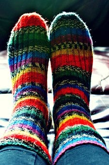 Socks, Girl, Legs, Lifestyle, Crafts, Colored