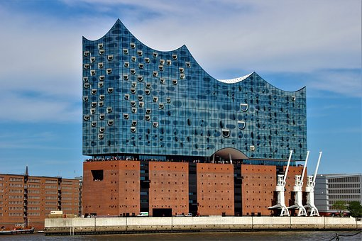 Hamburg, Elbe Philharmonic Hall, Architecture, Building
