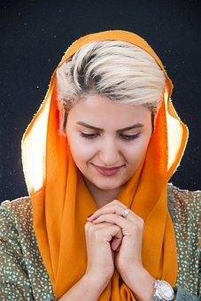 Hijab, Adult, Beautiful, Beauty, Close-up, Cute, Face