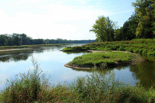 River, Landscape, Summer, Nature, Holiday