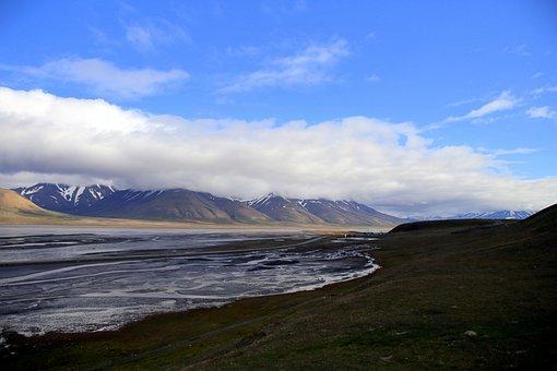 Spitzberg, Glacier, Outdoor, Fjord, Arctic Circle, Ice