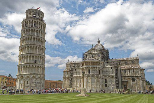Italy, Tuscany, Pisa, Leaning Tower