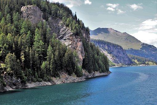 Alpejkie, Lake, Julierpass, Mountains