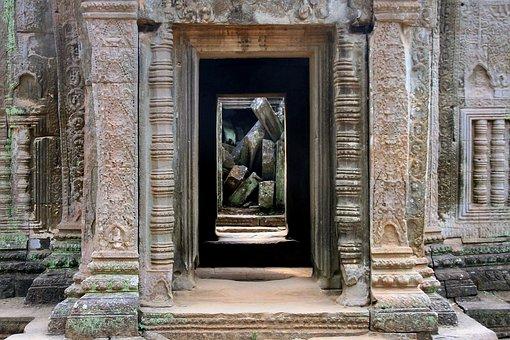 Ruin, Angkor Wat, Khmer, Cambodia, Temple, Architecture