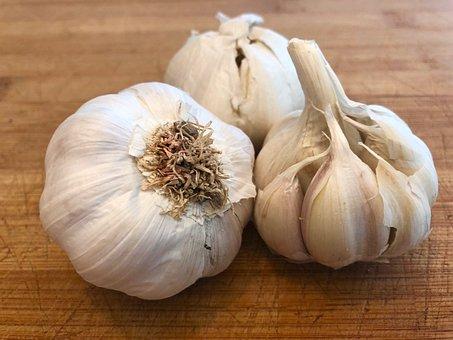Garlic, Kitchen, Food, Cook, Healthy, Vegetables