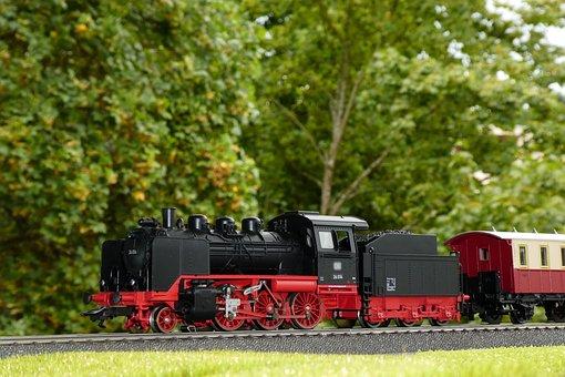 Steam Locomotive, Locomotive, Series 24, Model Railway
