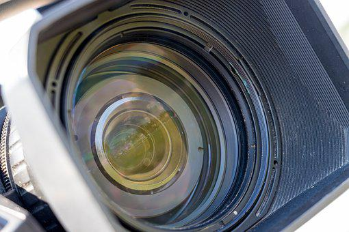 Lens, Video, Camera, Equipment, Record, Media