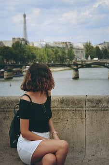 Paris, Girl, Fashion, Woman, Model, Lifestyle, Cute