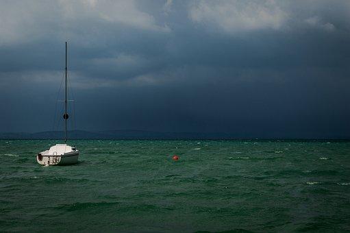 Balaton, Travel, Lake, Boat, Summer, Holiday, Nature