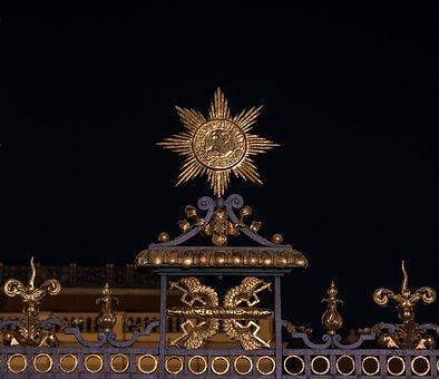 Fence, Star, Architecture, Prussia, Ornaments