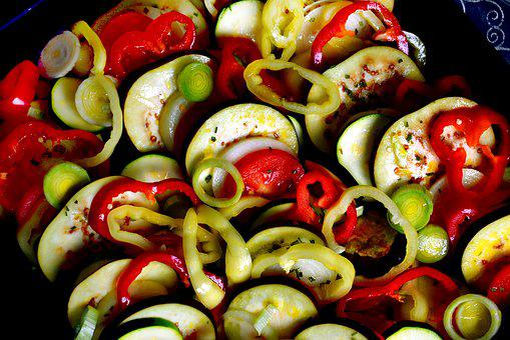 Ratatouille, Food, Kitchen, Cooking, Vegetables