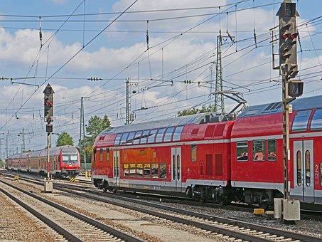 Railway, Regional Train, Double Decker