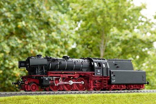 Steam Locomotive, Model, Series 23, Model Railway, Toys