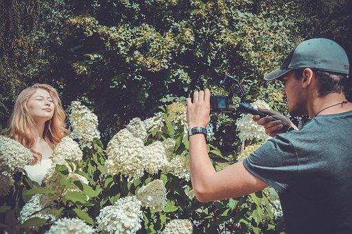 Shooting, Videographer, Model, Shoots Video, Director