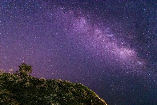 Milky Way, Stars, Night, Sky, Space, Astronomy, Dark