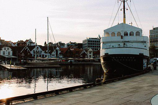 Stavanger, Boat, Norway, Ship, Harbor, Port, Pier