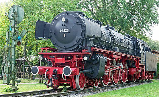 Steam Locomotive, Denkmallok, Express Train, Br01