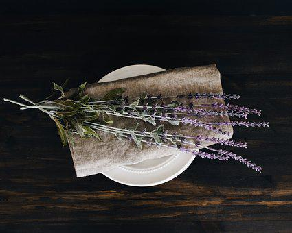 Table, Wooden, Morning, Lifestyle, Flower, Flatlay