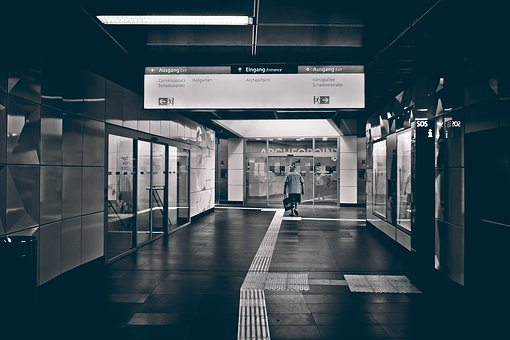 Metro, Underground, Station, Architecture, Train, Urban