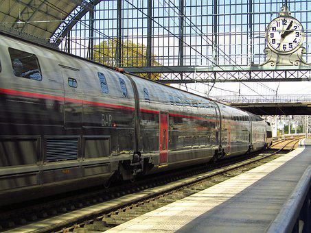 Bordeaux, Station, Transport, France, Wharf, Travel